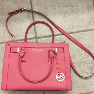Pink Michael Kors purse